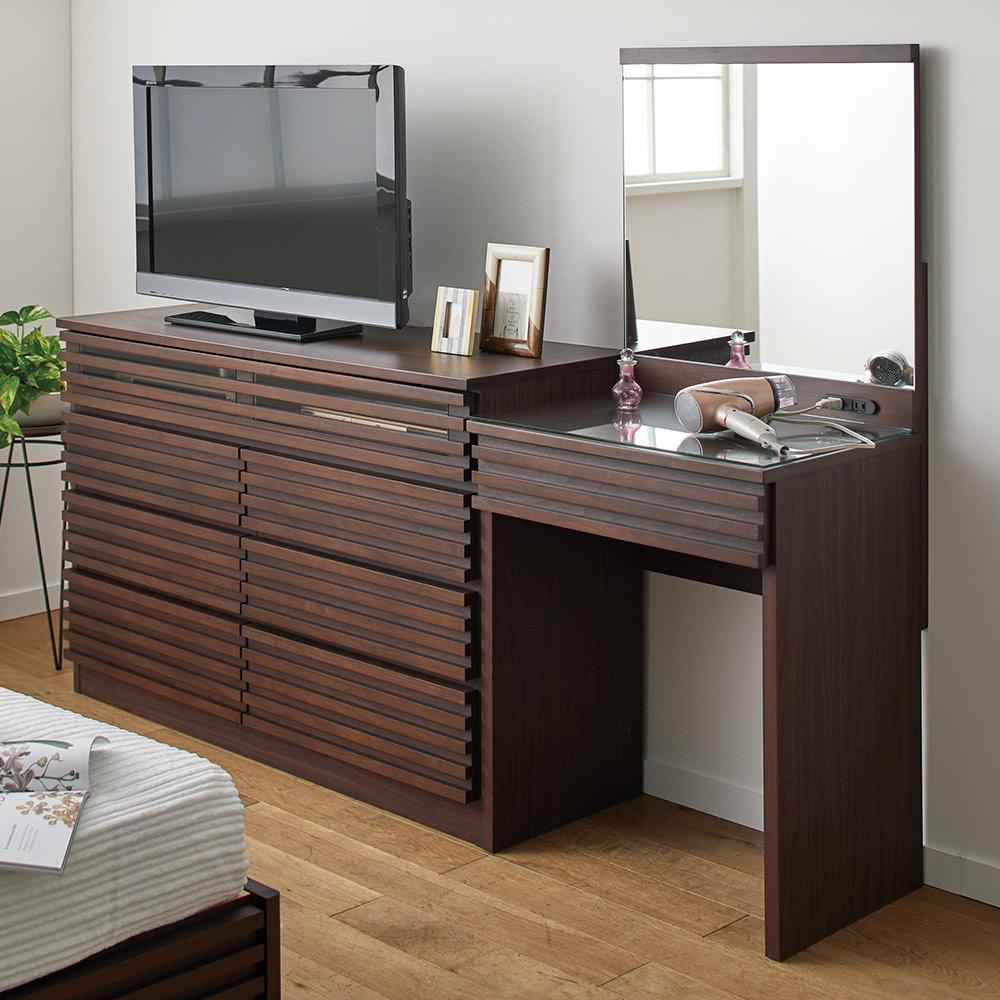 格子デザインシリーズ ハイタイプテレビ台 幅80cm H51916