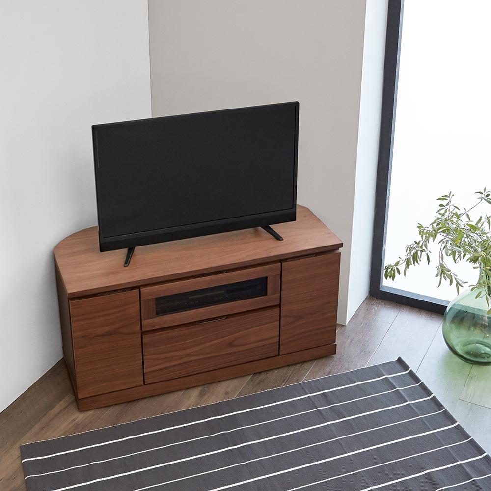大幅値下げランキング 家具 収納 リビング収納 テレビ台 コーナーテレビ台 ヴォルガ Volga 幅100cm 爆売り 高さ50cm H88207