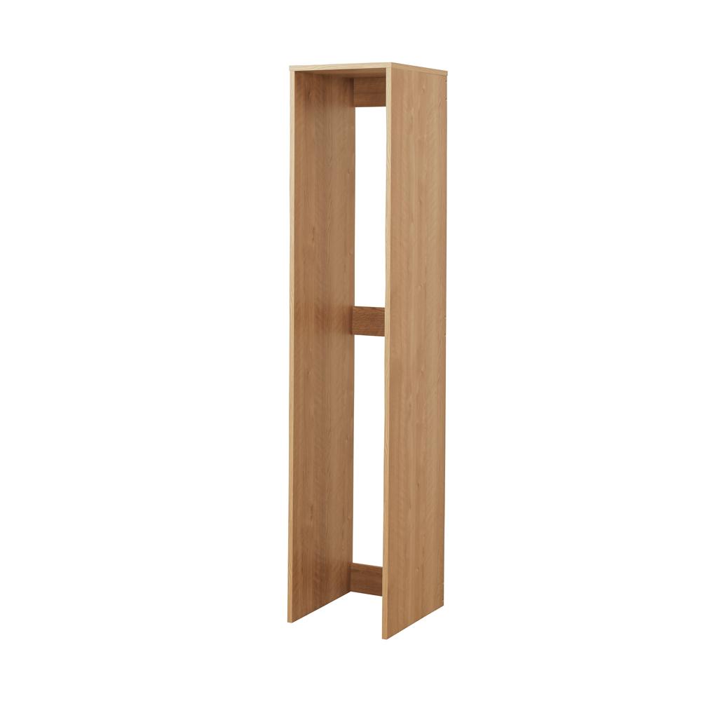 天然木調すき間収納本棚 2列用ボックス単品 729815