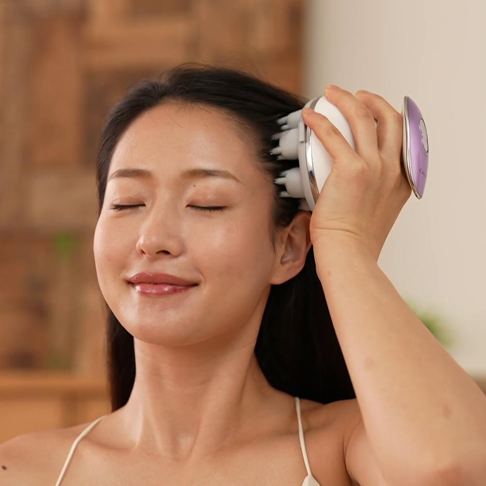 自宅で手軽にヘッドスパ 頭から刺激することで 早割クーポン 顔の引き締めケアができちゃう テレビ放送商品 美容 美容雑貨 ディノス AR2045 激安 リフト クリアージュ ヘッドスパ 特番