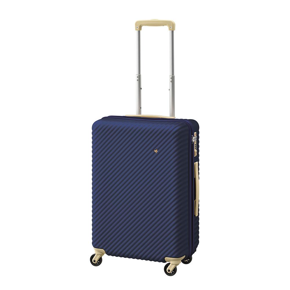 ACE HaNT(ハント) ストッパー付スーツケース サイドハンドル付 47L 3.5kg N53137:ディノス店