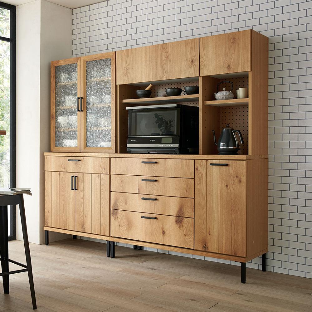 Bonno/ボノ キッチンボード・食器棚 幅120cm H58206