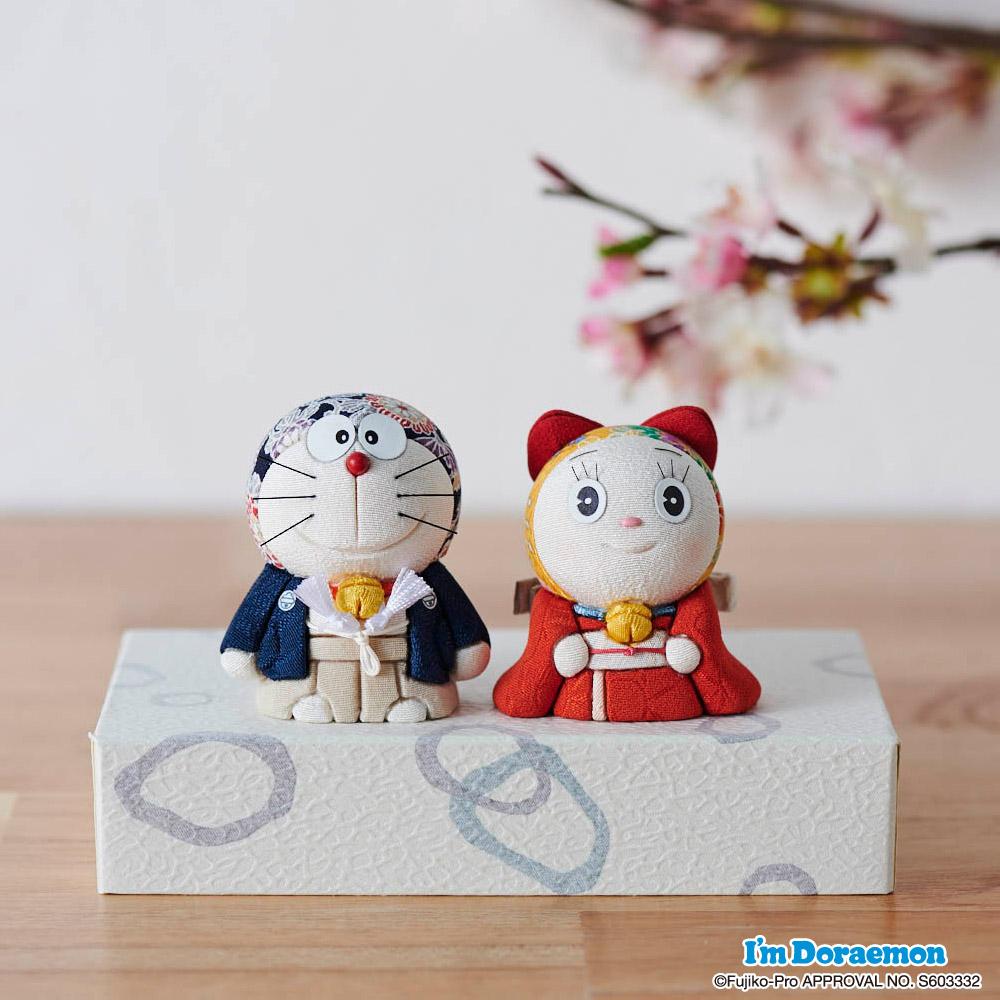 ドラえもん&ドラミちゃん人形 GF0870