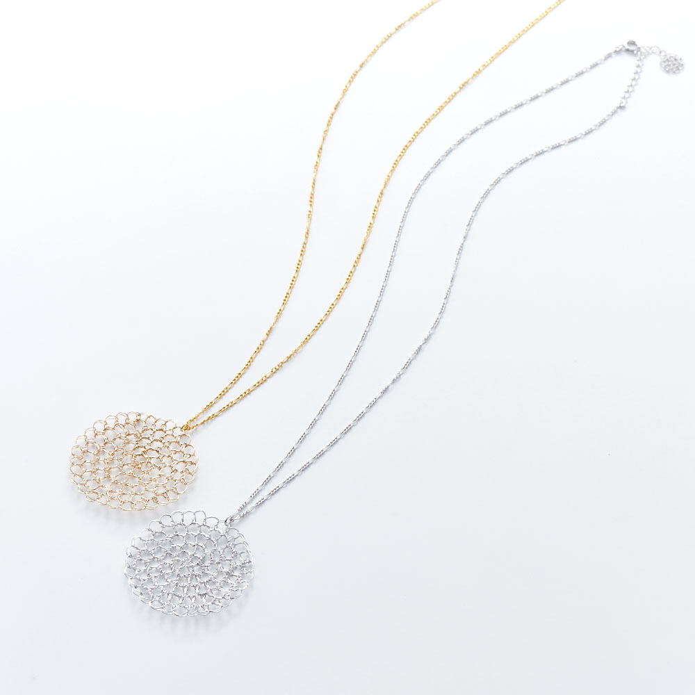 Himawari Necklace/タカハシナオミ クロッシェ ネックレス GF1019