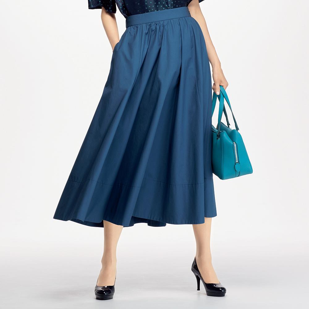 コットン素材 フレアースカート 122101