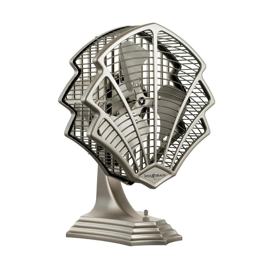 おしゃれな卓上扇風機/壁掛け対応モダンデザイン レトロ メタル リビングファン 店舗 インテリア シンプル ミニファン