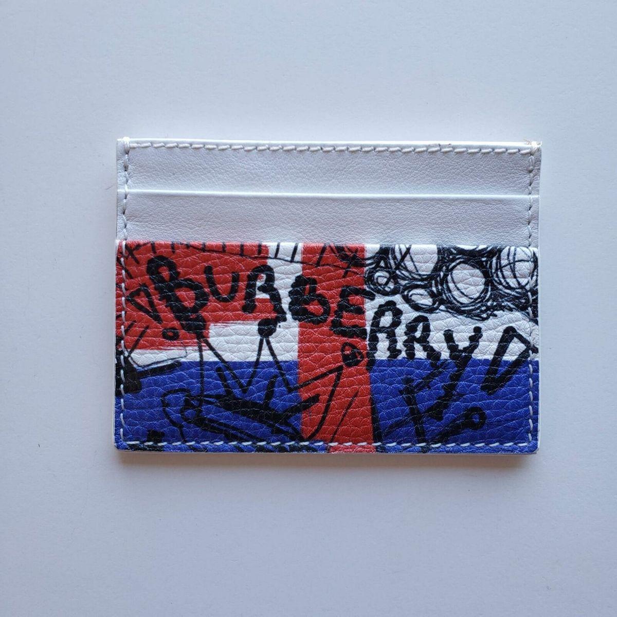 Burberry バーバリー ロゴプリント カードケース カードホルダー 財布 Logo Print Card Case Cardholder Wallet