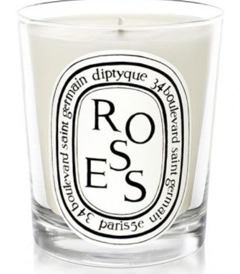 イギリスのカントリーガーデンの雰囲気を呼び起こすキャンドル 商店 DIPTYQUE ディプティック ローズ キャンドル 人気ブレゼント CANDLE ROSES 190g