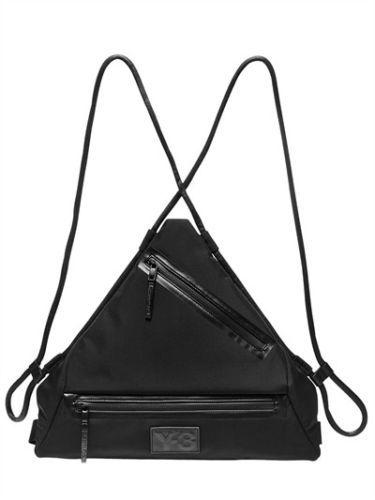 Y-3 ワイスリー カーサ トランアングル ナイロンバックパック ブラック Qasa Triangle Nylon Backpack