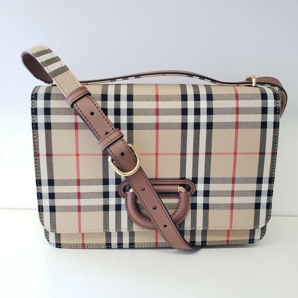 Burberry バーバリー Dリング クロスボディバッグ ヴィンテージチェック 2019 Medium Vintage Check D-Ring Bag