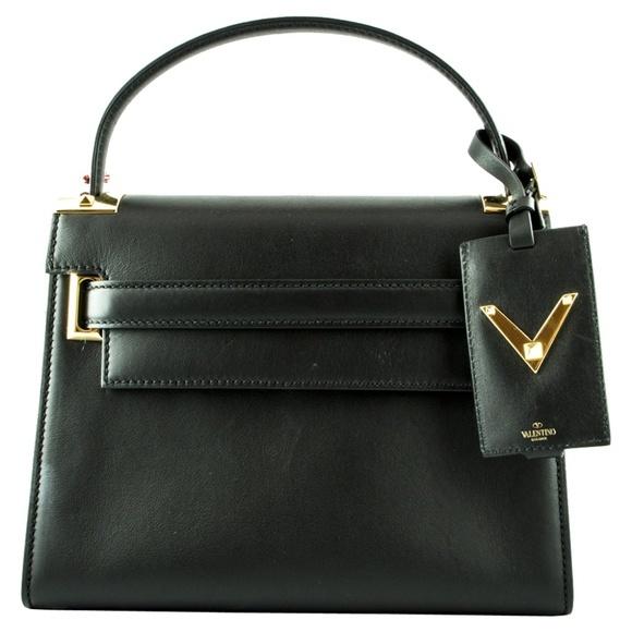 Valentino Garavani ヴァレンティノ ガラヴァーニ マイロックスタッズバッグ-ブラック My Rockstud Bag - Black