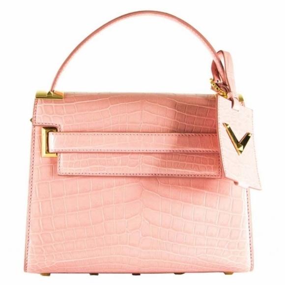 Valentino ヴァレンティノ シングルトップハンドル ハンドバッグ - ピンク Single Top Handle Handbag - Pink