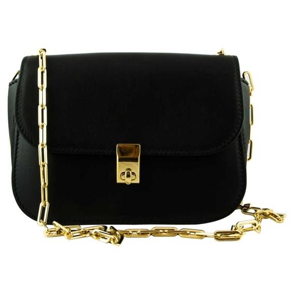 Valentino バレンティノ オールオーバーチェーンショルダーバッグブラック All Over Chain Shoulder Bag - Black