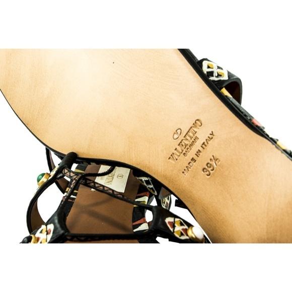 Valentino ヴァレンティノ エスニック レザー サンダルマルチカラー Ethnic Leather SandalMulticolorD9IHWb2eEY