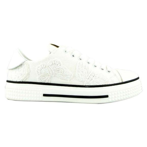 Valentino ヴァレンティノ バタフライ スニーカー MW2S0019 ホワイト Butterfly Sneakers MW2S0019 - White