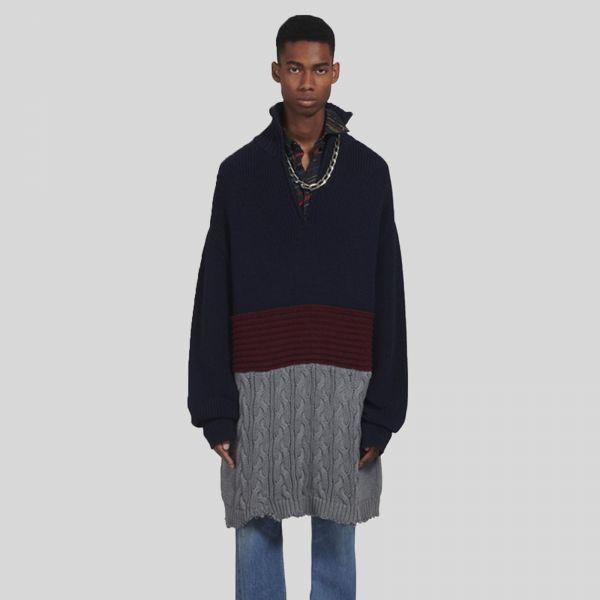 Balenciaga バレンシアガ レイヤード ハイネックセーター Layered High Neck Sweater