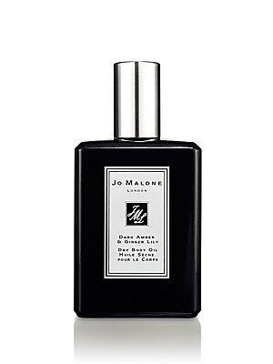 JO MALONE LONDON ジョー マローン ロンドン ダーク アンバー & ジンジャー リリー ドライ ボディ オイル Dark Amber & Ginger Lilly Dry Body Oil 100ml
