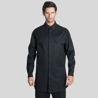 Rick Owens リック オウエンス ロング ー スリーブ オーバーサイズ シャツ Long-Sleeve Oversized Shirt