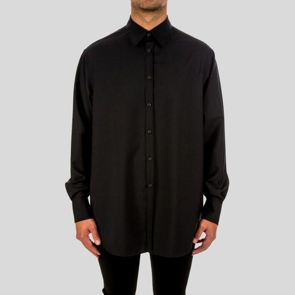 Valentino ヴァレンティノ カミシア シャツ Camicia Shirt - black