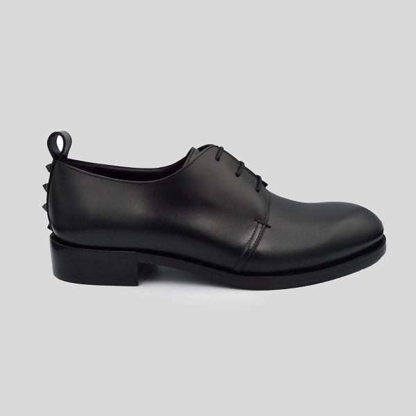 Valentino ヴァレンティノ ダービーシューズ ブラック Derby Shoes black
