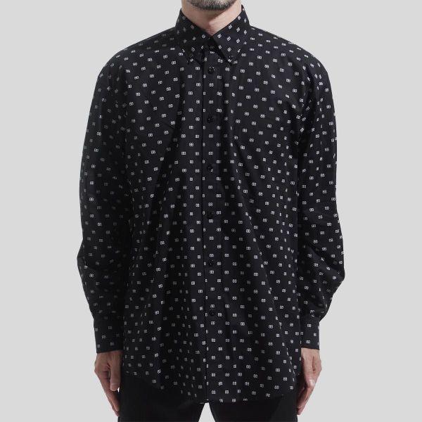 Balenciaga バレンシアガ BB ストリート スタイル シャツ BB Street Style Shirt