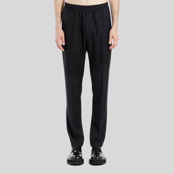 Givenchy ジバンシー エラスティック ウエスト ブラックパンツElastic Waist Black Pants