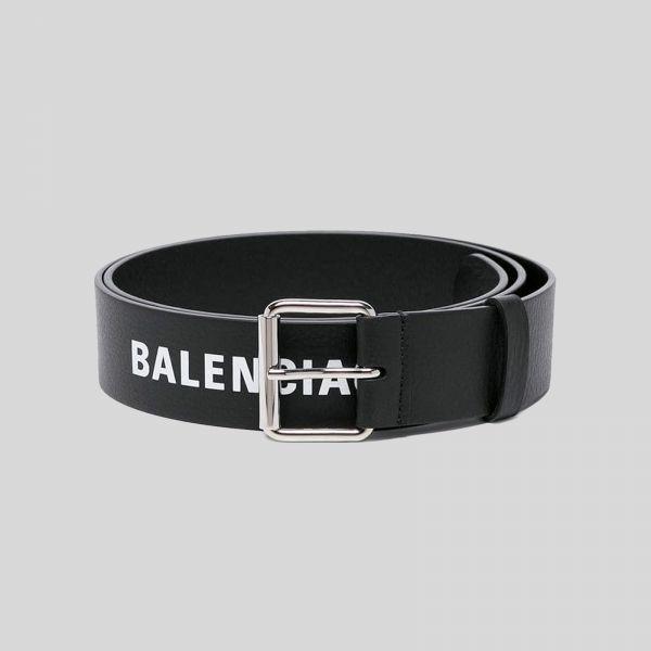 Balenciaga バレンシアガ ロゴ ベルト Logo Belt - black