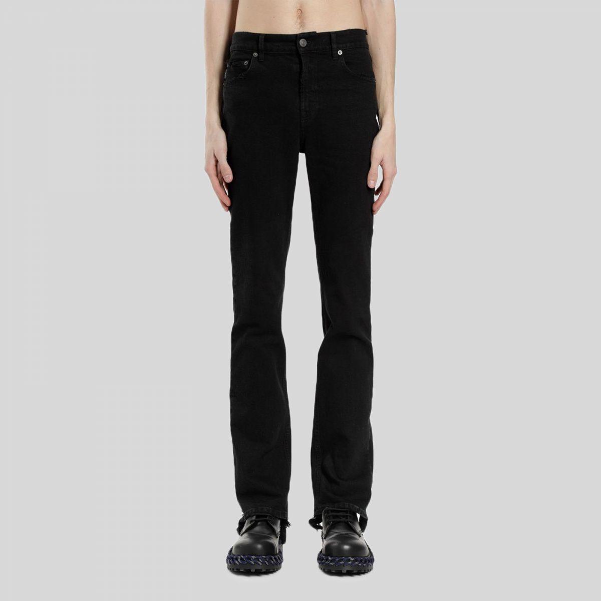 Balenciaga バレンシアガ ブラック ディストレスト スキニージーンズ Black Distressed Skinny Jeans