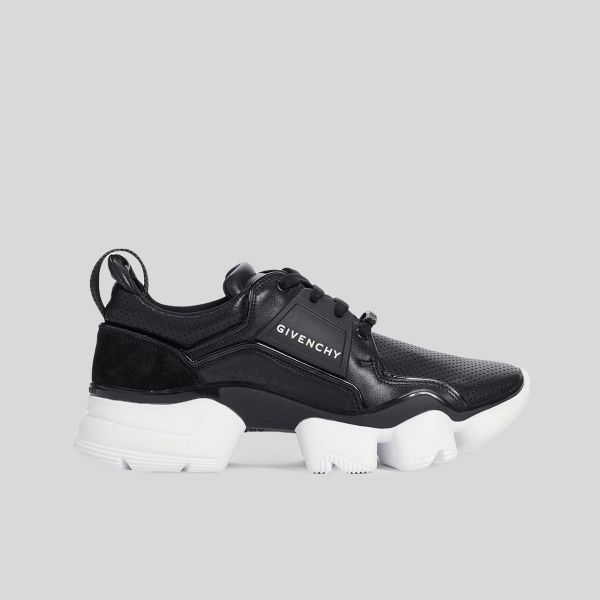 Givenchy ジバンシー ジョー ロー レザー スニーカー ブラックJaw Low Leather Sneakers - black