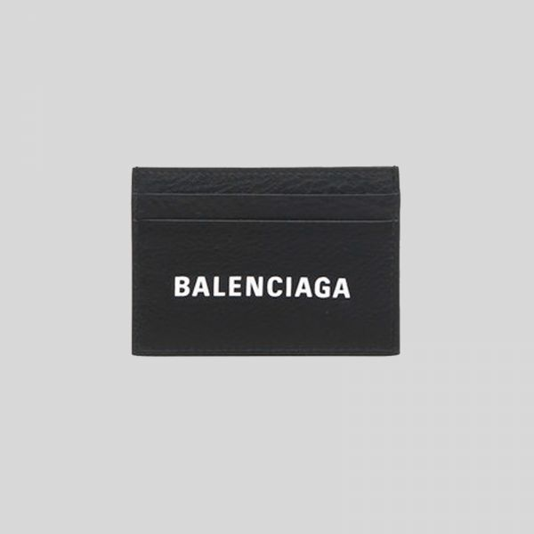 Balenciaga バレンシアガ エブリデイ マルチ カード ホルダー Everyday Multi Card Holder - black