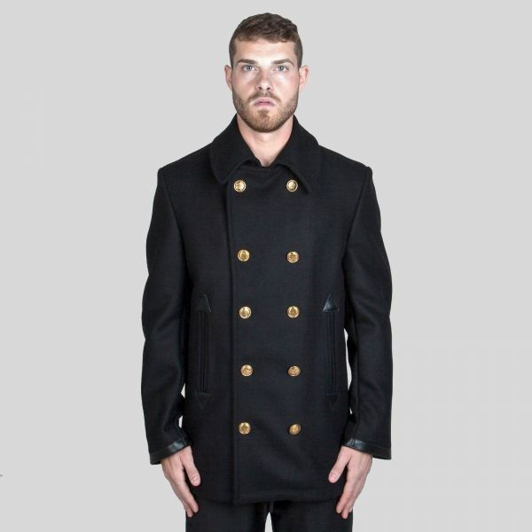 Givenchy ジバンシー ウィズ ゴールド 4G ボタン Peacoat with Gold 4G Buttons