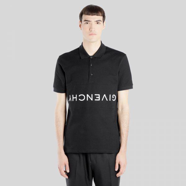 ジバンシー人気のリバースポロシャツ 買収 Givenchy ジバンシー リバース Shirt Reverse 即日出荷 Polo ポロシャツ