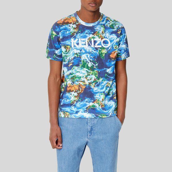 Kenzo ケンゾー コバルト ロゴ Tシャツ Cobalt Logo T-shirt