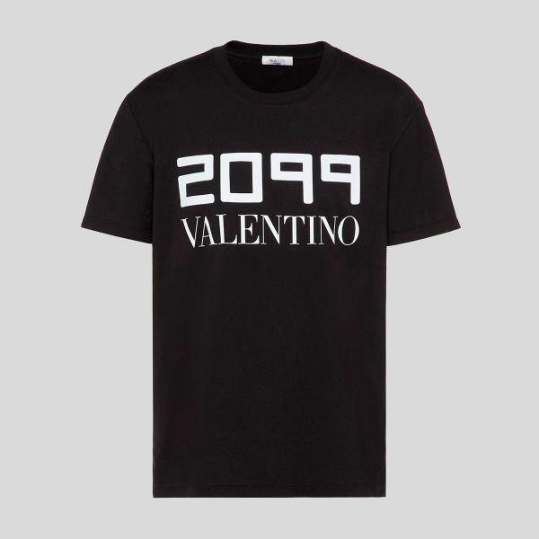 Valentino ヴァレンティノ ロゴ Tシャツ 2099 Valentino Logo T-shirt black