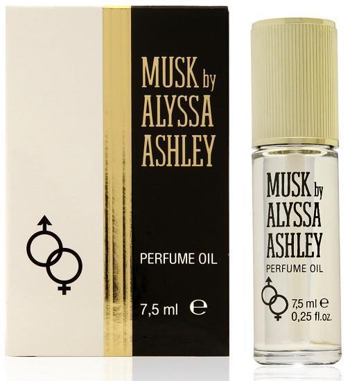 エレガントでぬくもりのあるフローラル 大人気! ムスキーのクラシックな香り デポー ALYSSA ASHLEY アリサ アシュレイ ムスク Musk Oil オイル パフューム 7.5ml Perfume