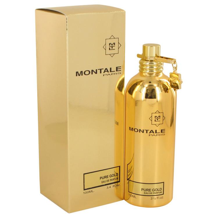 ムスキーでフローラルな香り 結婚祝い 誕生日プレゼント Montale モンタル ピュア ゴールド Pure 100ml Gold EDP