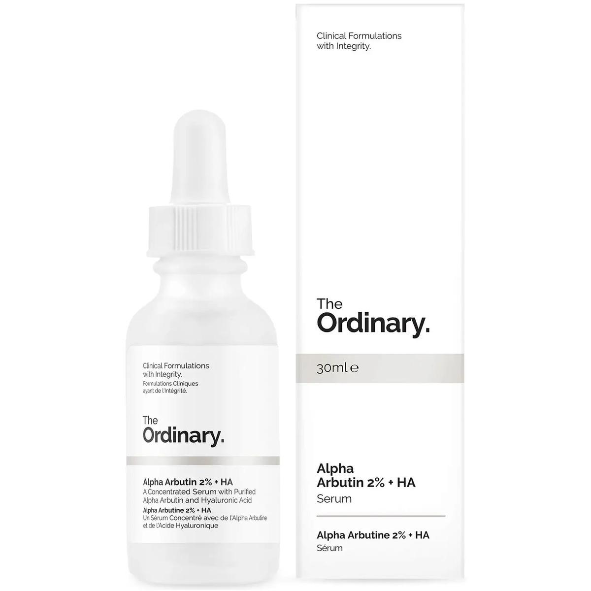 色素沈着 安い 激安 在庫一掃 プチプラ 高品質 シミ ニキビ跡を目立たなくする美白美容液 The Ordinary ジオーディナリー アルファアルブチン2% HA 30ml Arbutin 2% + Alpha