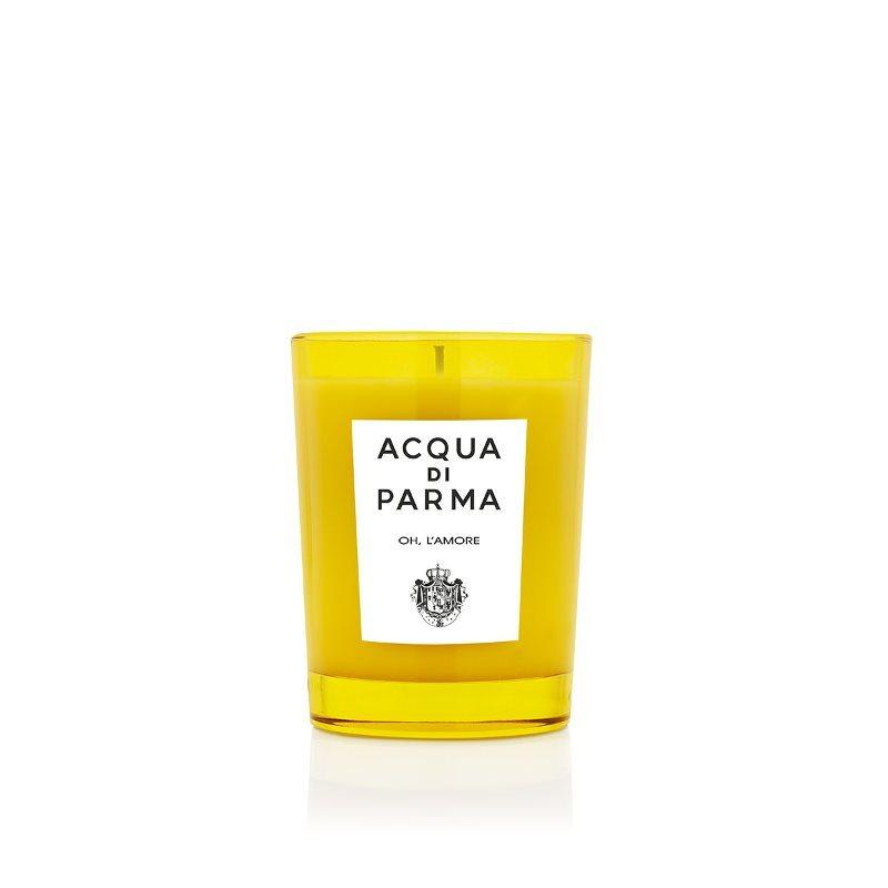豊かなスパイスとバルサミコの暖かい香り ACQUA DI PARMA アクア ディ 国内正規品 パルマ キャンドル ラモーレ 200g L'AMORE OH オー CANDLE 直営店
