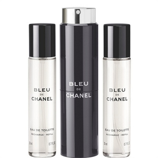 Chanel シャネル ブルー EDT スプレー Bleu EDT spray 60(30×2)ml