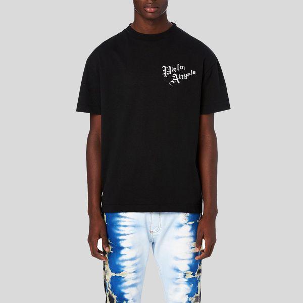 Palm Angels パーム・エンジェルス セイクリッドハートブラックTシャツ Sacred Heart Black T-Shirt