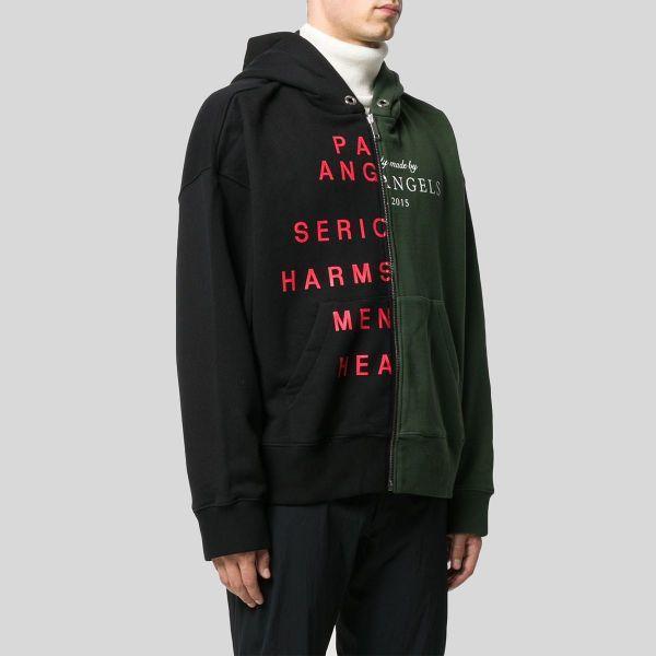 Palm Angels パーム・エンジェルス ツートン ロゴ フーディー ジャケット Two-tone Logo Hooded Jacket