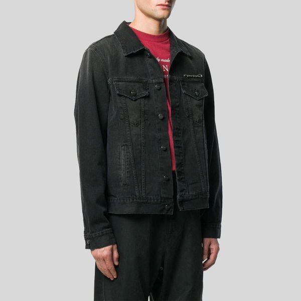 Palm Angels パーム・エンジェルス レギュラーフィット デニム ジャケット Regular Fit Denim Jacket