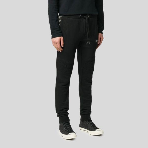 Philipp Plein フィリップ・プレイン スタッズロゴトラックパンツ Studded Logo Track Pants