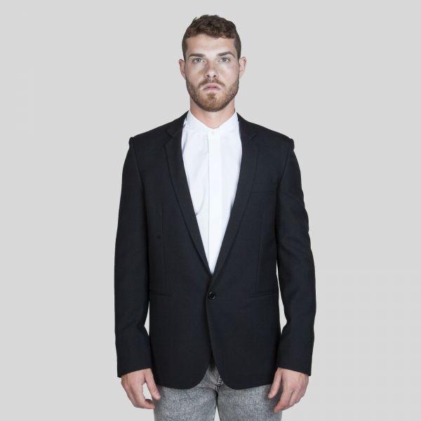 Saint Laurent サンローラン ストレートカット ブラック ブレザー Straight Cut Black Blazer