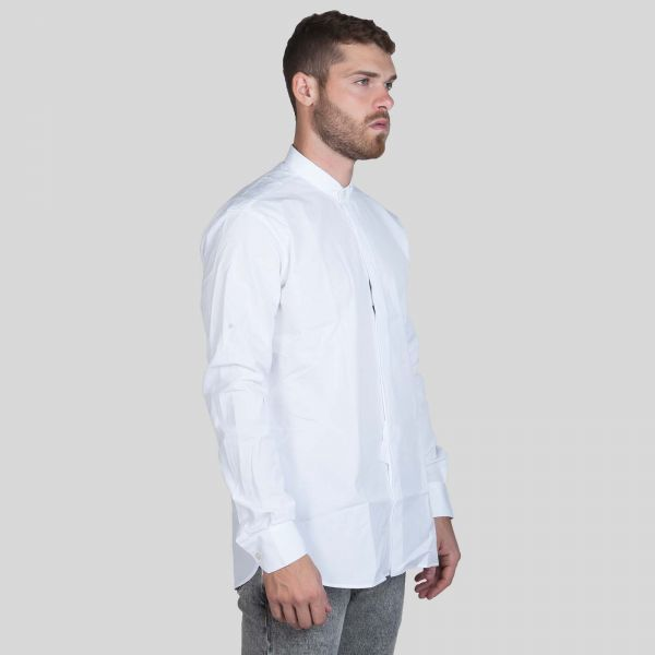 Saint Laurent サンローラン ポプリン シャツ ホワイト Poplin Shirt - White