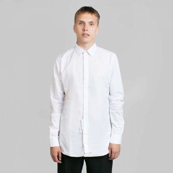 Saint Laurent サンローラン イブズカラーホワイトシャツ Yves Collar White Shirt