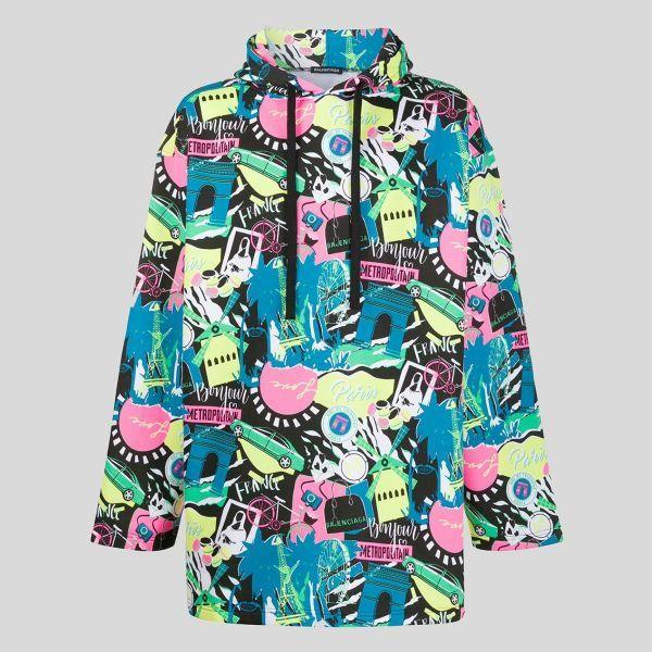 BALENCIAGA バレンシアガ オーバーサイズフーディージャケット Oversize Hoodie Jacket