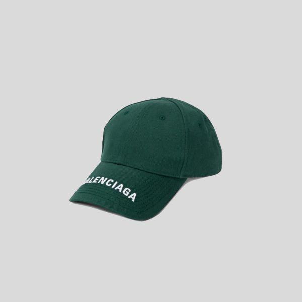 BALENCIAGA バレンシアガ エンブロイダードロゴベースボールキャップ Embroidered Logo Baseball Cap