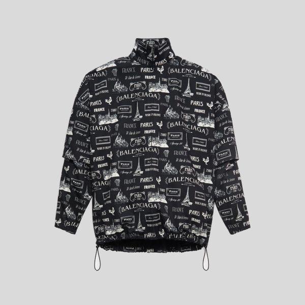 BALENCIAGA バレンシアガ ダブルスリーブジップアップジャケット Double Sleeve Zip-Up Jacket
