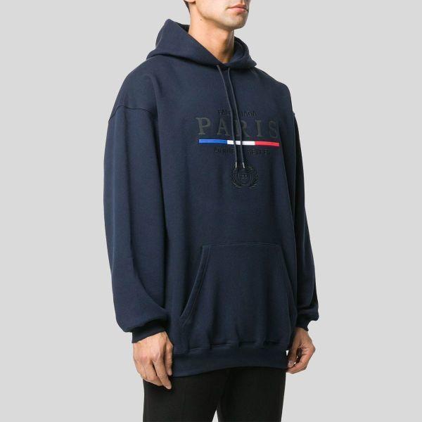 BALENCIAGA バレンシアガ BBブルーセーター BB Blue Sweater